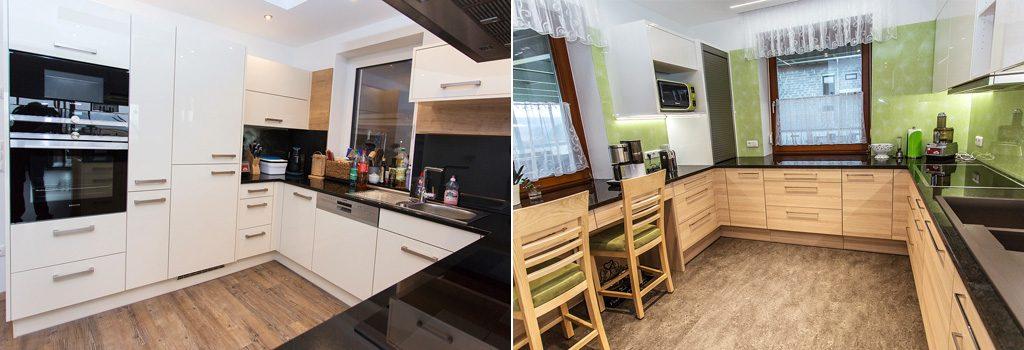 Küchenmeter Emil Geier individuelle Maßküchen - U-förmige Küche