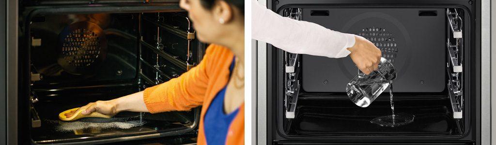 Küchenmeter Emil Geier individuelle Maßküchen - Küchenplanung - Backofen - Backrohr - Selbstreinigungsfunktion
