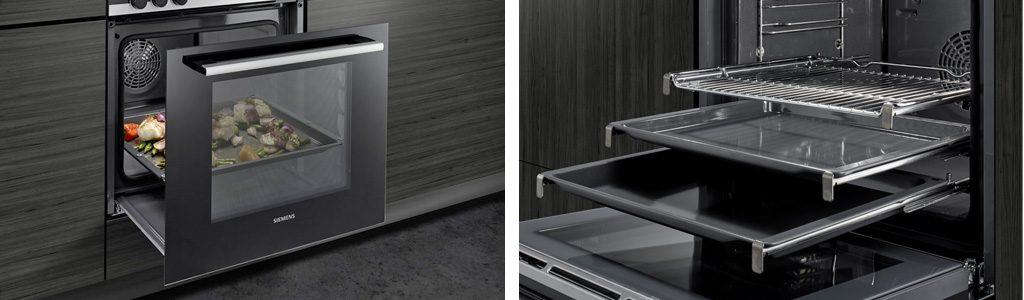 Küchenmeter Emil Geier individuelle Maßküchen - Küchenplanung - Backofen - Backrohr mit Teleskopauszug