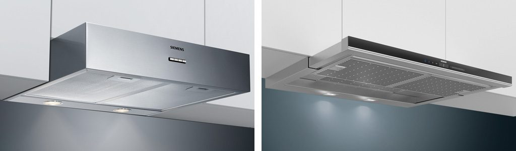 Küchenmeter Emil Geier individuelle Maßküchen - Dunstabzug - Unterbauhaube - Flachschirmhaube