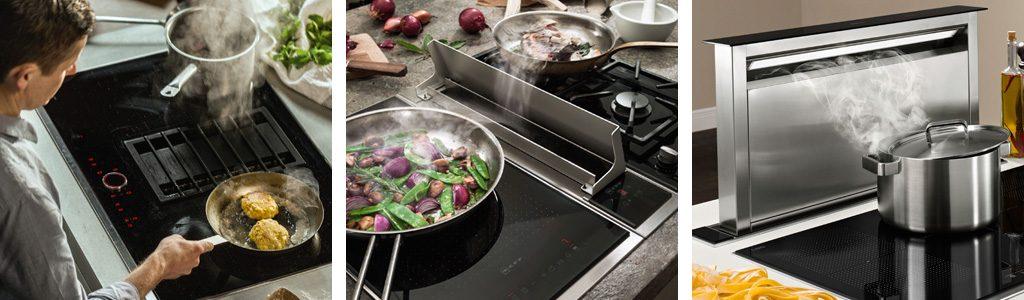 Küchenmeter Emil Geier individuelle Maßküchen - Kochfeldabzug - Tischlüfter