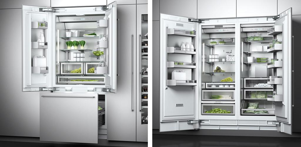 Küchenmeter Emil Geier individuelle Maßküchen - Küchschrank Side-by-Side Frenchdoor-Kühlschrank