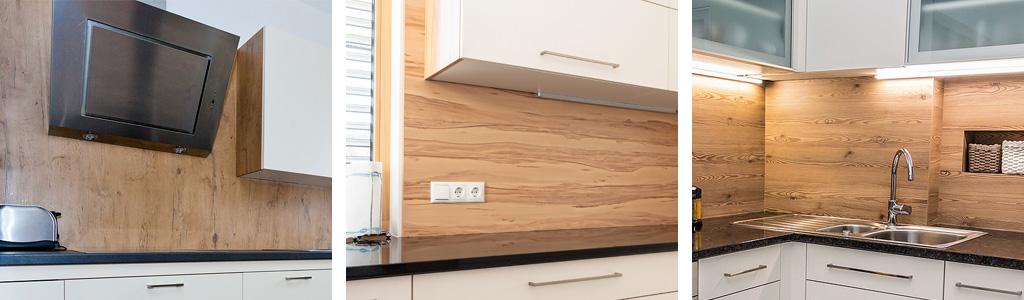 KÜCHENmeter - Emil Geier – Qualitätsküchen aus Österreich – Küchenrückwand aus Holz