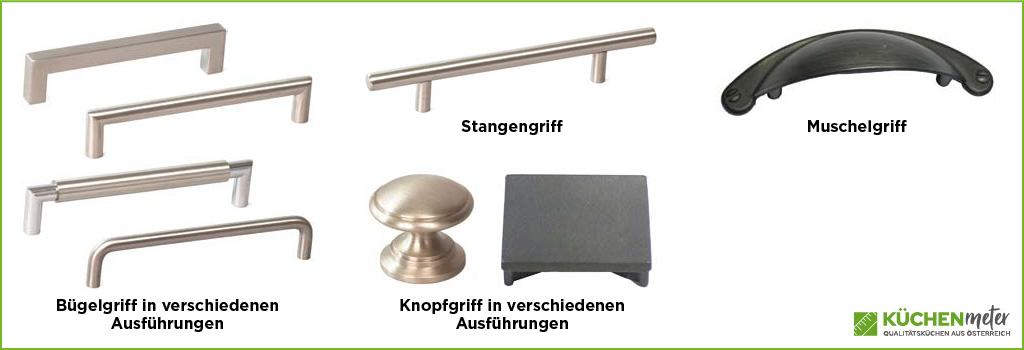 KÜCHENmeter – Emil Geier – Griffformen
